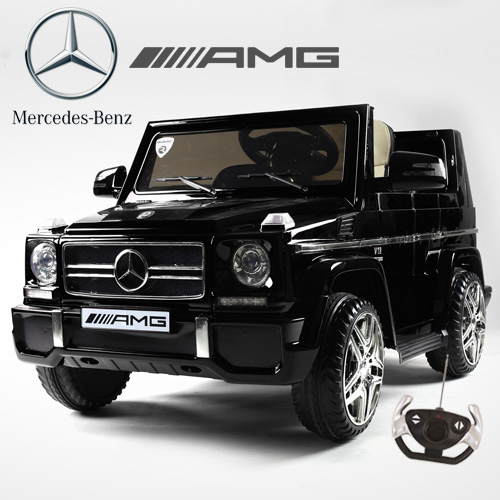 Licensed Black Mercedes AMG G65 G-Wagon Luxury 12v Jeep - Click Image to Close