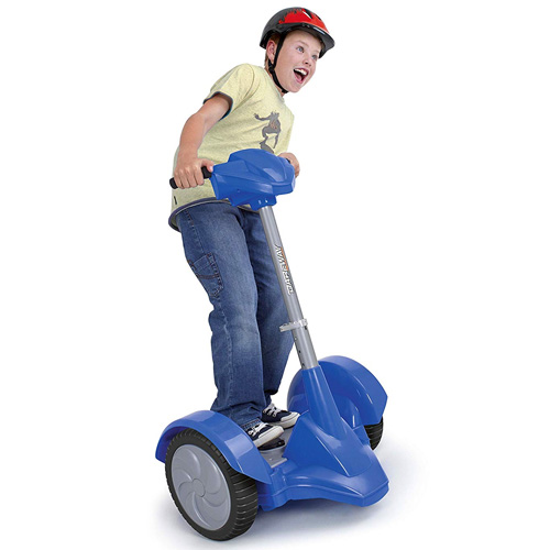 Kids Feber 12v Dareway Revolution Segway Ride On Scooter - Click Image to Close