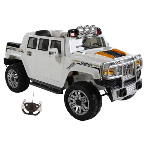 Hummer H3 Style 12v Ride On Electric Jeep with Remote - Click Image to Close