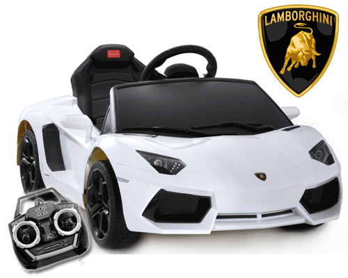 6v Licensed Lamborghini Aventador Ride-on Car with remote - Click Image to Close