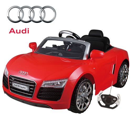 order your kids licensed 12v audi r8 spyder ride on car now this kids licensed 12v audi r8 spyder ride on car is a great example o