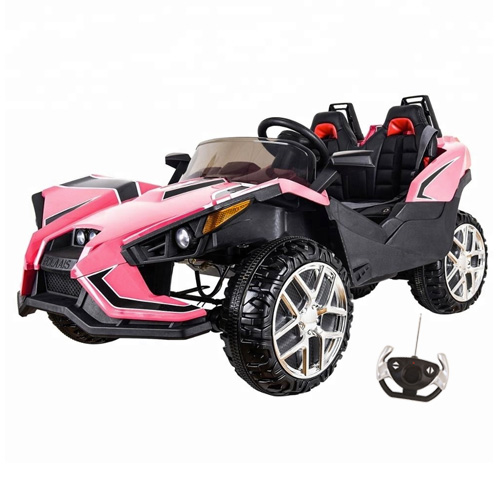 f1be550d0e4 Order Your Kids Pink 2 Seater Concept Sports Ride On 12v Car This all  terrain Kids Pink Electric 12v Kit Style Car is made from high quality.