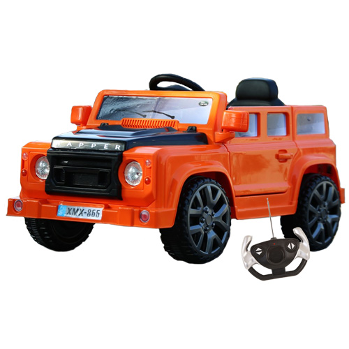 Land Rover Defender Style 12v Kids Ride On Jeep - Click Image to Close