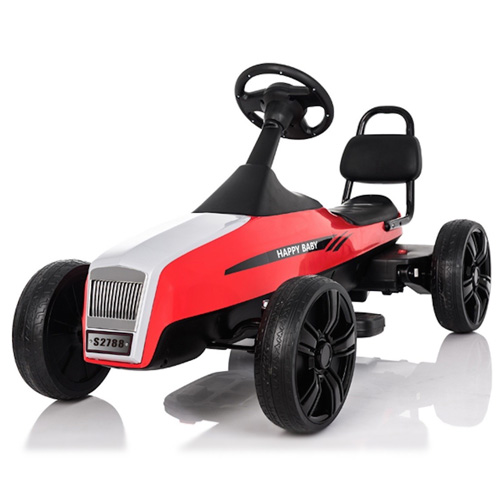 Le Mans Style 12v Kids Electric Go Kart - Click Image to Close