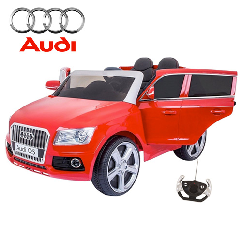 Licensed Audi Q5 12v Kids Jeep with Leather Seat - Click Image to Close