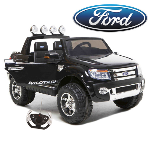 Large Licensed Ford Ranger 12v Kids Pick Up Truck Ride On - Click Image to Close