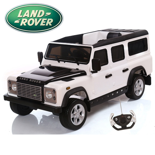 Licensed Land Rover Defender Kids Electric Jeep