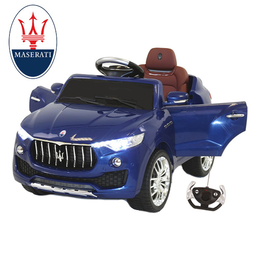 Licensed Maserati Levante 6v Kids Electric Jeep - Click Image to Close