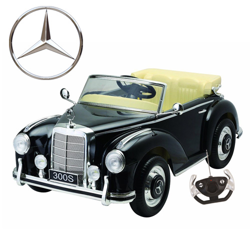Licensed mercedes 300s 12v ride on wedding car with for Mercedes benz toddler car