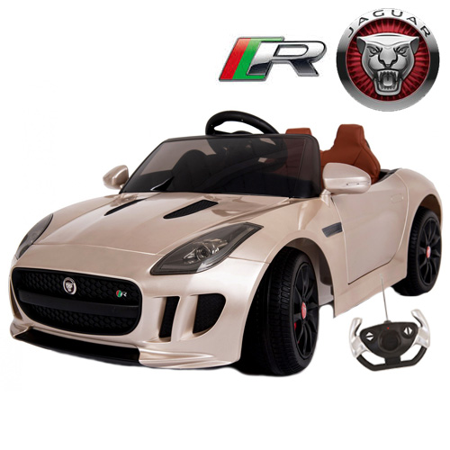 Licensed Sit-In 12v Jaguar F-Type R-Coupe Champagne Edition - Click Image to Close