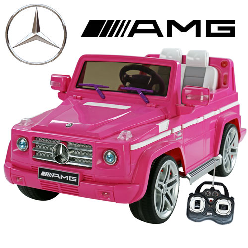 Kids electric pink jeep