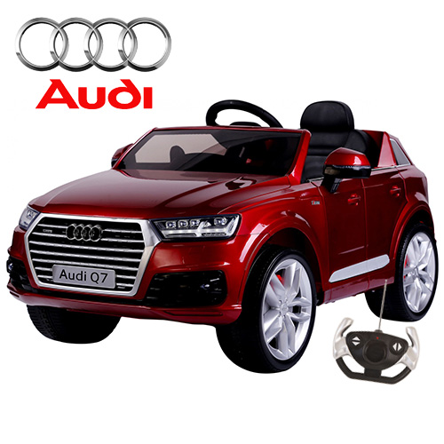 New Shape Official Audi Kids Ride On Jeep With Remote