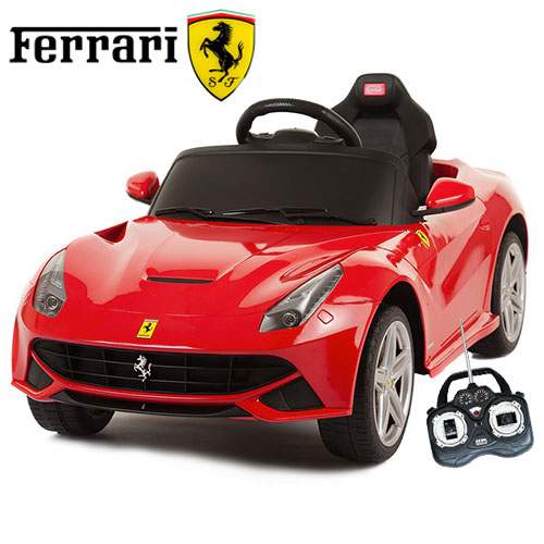 official ferrari f12 6v kids electric car