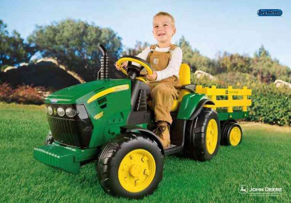 Peg Perego John Deere 12v Ground Force Tractor 163 318 00