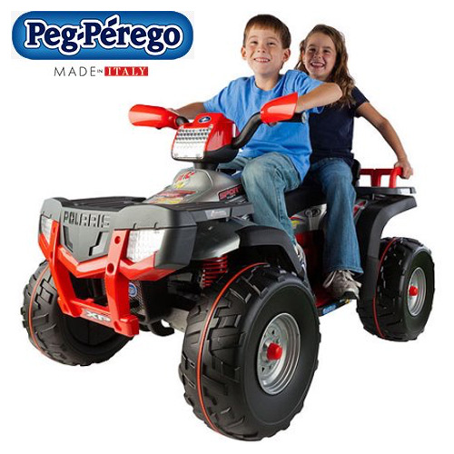 Italian Made Premium 2 Seater 24v Ride-on Childs Quad Bike - Click Image to Close