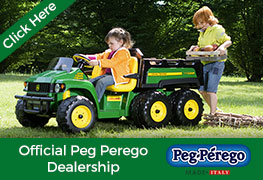Peg Perego Dealership at Kids Electric Cars