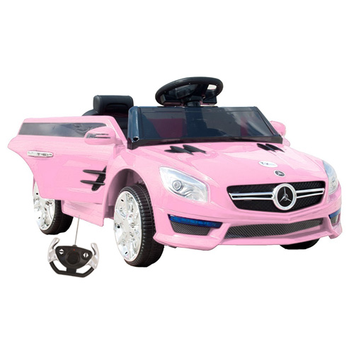 Pink Mercedes Style S Roadster 12v Ride On Car - Click Image to Close