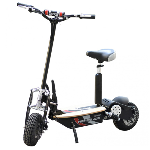 Premium 36v Ride-On 1000w Sit-on Scooter - Click Image to Close