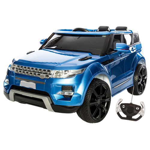 Blue Limited Edition Large HSE Range 12v Jeep - Click Image to Close