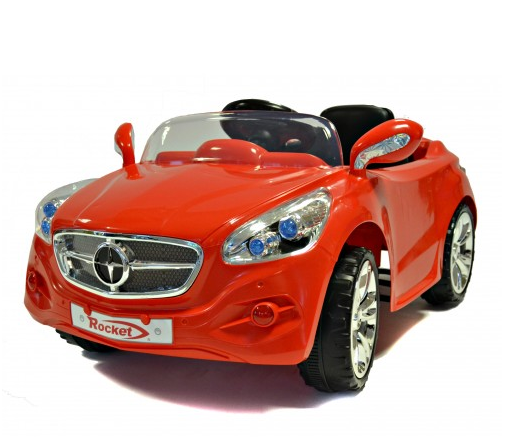 12v red mercedes style kids electric roadster car