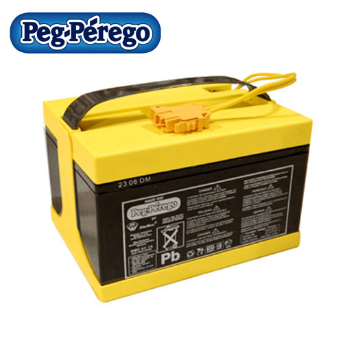 replacement peg perego rechargeable 24v 12ah battery