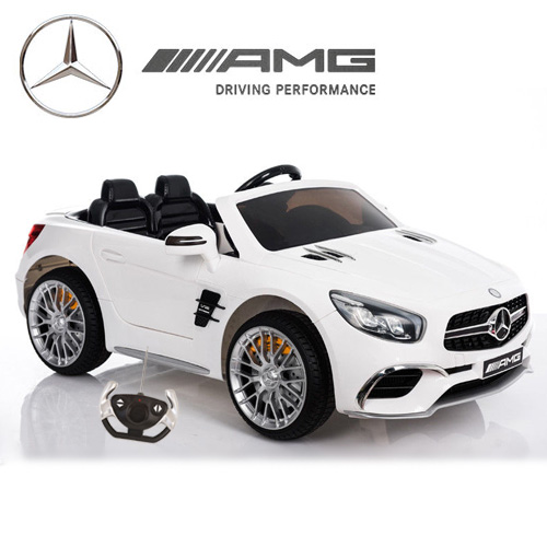 Electric Kids Cars >> White 12v Mercedes Sl65 Licensed Kids Electric Car 239 95 Kids