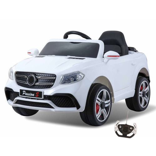 Ice White Mercedes GLC Style Kids 12v Ride On SUV - Click Image to Close