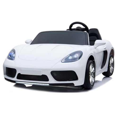 White Oversize Two Seat 24v Kids High Speed Ride On Electric Car - Click Image to Close