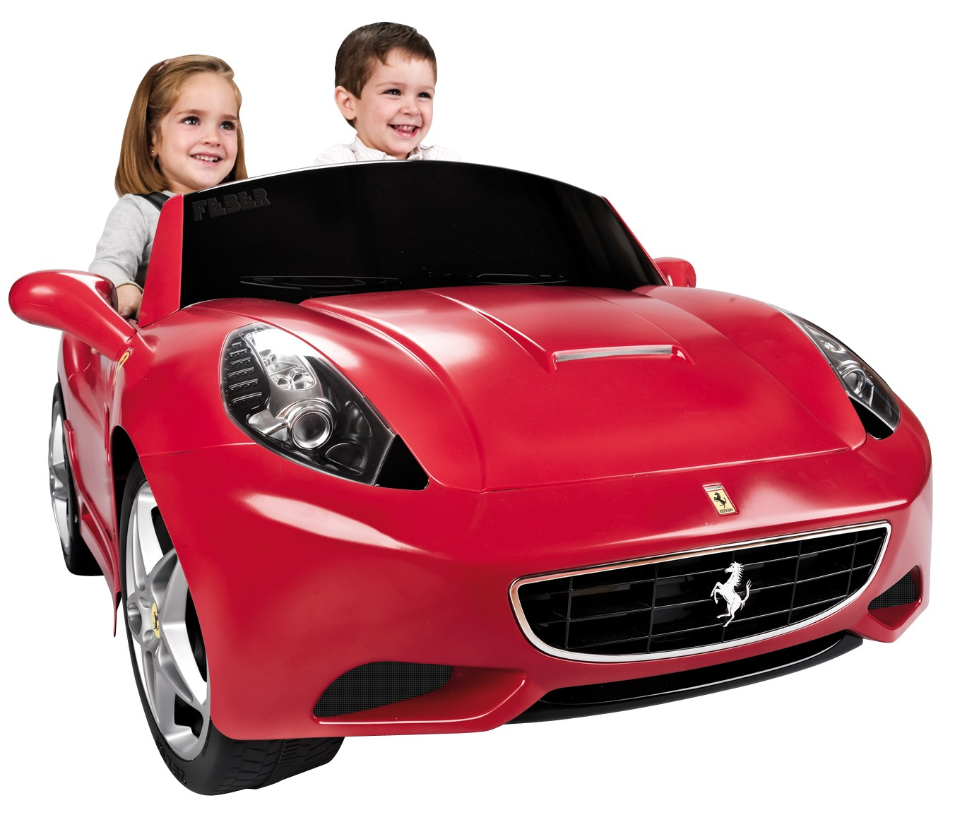 the licensed 12v feber ferrari ride on electric car is a top brand 12v ride on car which goes up to 5 kmh and features 2 seats fo