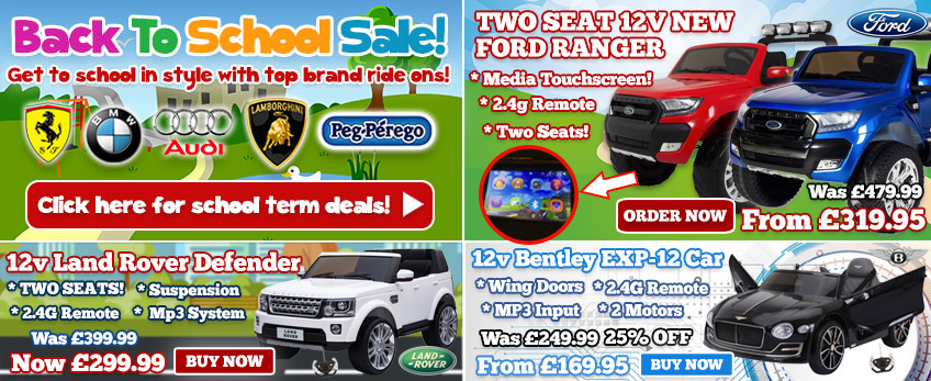 Half Term Deals! Stock clearance prices on top brands