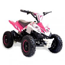 36v 800w Speed Restriction Girls Pink Battery Quad Bike