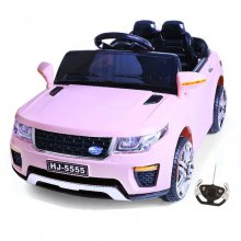 Kids Pink Urban Mini 12v Ride On Jeep with Doors & Remote
