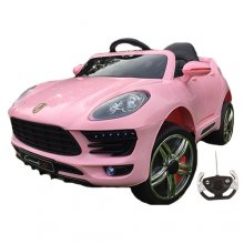 Porsche Macan Style Kids 12v SUV Pink Ride On Jeep