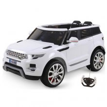 White HSE Style Premium Maxi 12v Kids Electric Jeep