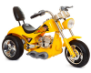 Cool Yellow 12v Children's Electric Sports U.S. Outrider Bike