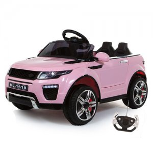 Pink Xtra Urban Evoque Style 12v Suv Jeep With Remote