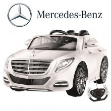 12v Licensed Ride-In Mercedes S-Class With Remote System