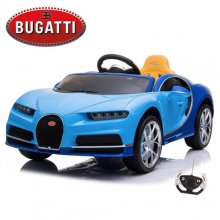 Official Blue Bugatti Chiron 12v Kids Ride On Electric Super Car