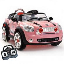 6v Kids Mini Cooper Style Ride-On Roadster