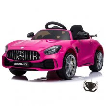 Official Hot Pink Mercedes AMG GT R Kids 12v Ride On Car