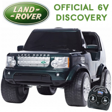 Licensed Kids 6v Land Rover Discovery Jeep Ride On With Remote