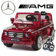 Official Red Mercedes AMG G55 Premium Kids 12v Jeep
