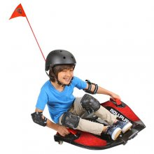 Kids Electric Sit On 12v Extreme Sports Style Skateboard Kart