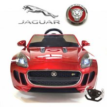 Limited Edition Official Red 12v F Type Jaguar Kids Car