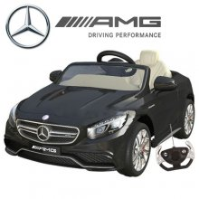 Licensed 12v Mercedes S63 AMG Ride On Sports car