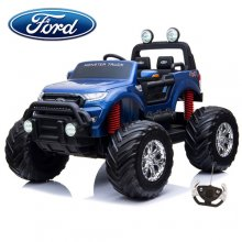Kids Blue Ford Ranger Ride On 24v Monster Truck Jeep