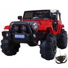 Cool Monster Truck 12v Kids Electric Jeep with Suspension
