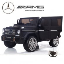 12v Matte Black G-65 Mercedes Ultimate Edition Kids Ride On Jeep