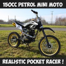 150cc Ride On Mini Motocross Motorbike