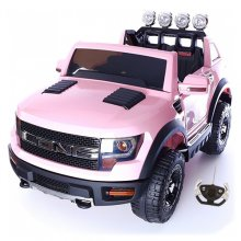 Kids American Pink SUV Ranger Style Girls 12v Jeep with Remote
